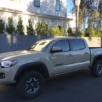 2016 Toyota Tacoma TRD OFF ROAD, light brown, 4 door