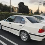 1998 BMW M3, white, 4 door