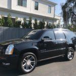 2013 Cadillac Escalade Premium, black, 4 door