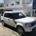 2013 Land Rover LR4, white, 4 door