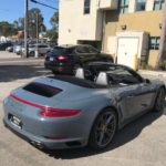 2017 Porsche 911 4S, gray, 2 door, convertible