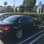 2007 BMW 335i, black, 2 door