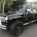2012 Jeep Unlimited, 4 door, black