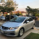 2013 Honda Civic LX, 4 door, silver