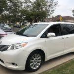 2013 Toyota Sienna Limited, white, 4 door
