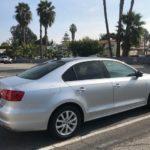 2014 VW Jetta, silver, 4 door