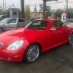 2003 Lexus SC 430, red, convertible
