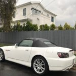 2004 Honda S2000, WHITE, 2 DOOR, CONVERTIBLE