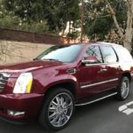 2007 Cadillac Escalade, 4 door, burgundy