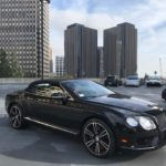 2013 Bentley GTC, 2 door, black convertible