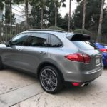 2013 Porsche Cayenne Turbo, 4 door, gray