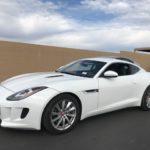 2015 Jaguar F-Type, 2 door, white