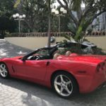 2006 Chevrolet Corvette, convertible, red
