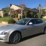 2011 Maserati Quattroporte, silver, 4 door