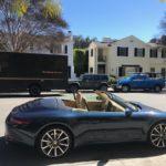 2013 Porsche 911, convertible, black, 2 door