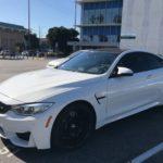 2017 BMW M4, 2 door, white