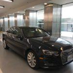 2017 Audi A4, 4 doors, Black