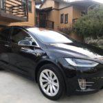2017 Tesla X 90D, Black, 4 doors
