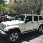 2016 Jeep Sahara, 4 doors, white