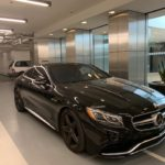 2016 Mercedes Benz S63 AMG, black, 2 doors