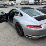 2017 Porsche 911 S, 2 door, silver