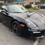 2016 Porsche Boxter Black Edition